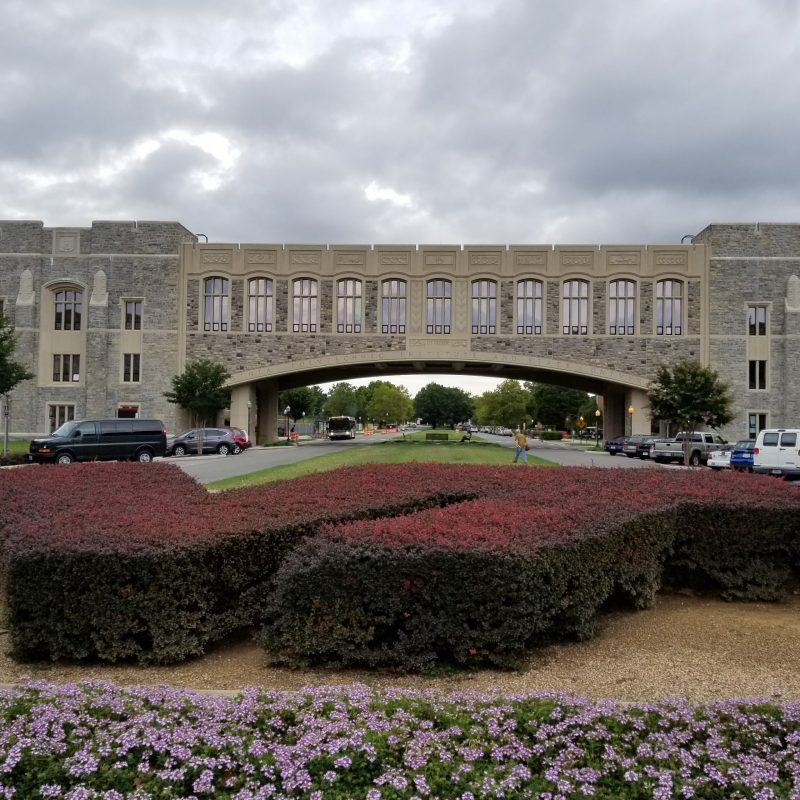 Photo of Torgerson Bridge at Virginia Tech